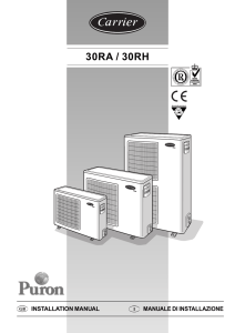 30RA / 30RH Puron - Comfort Air Center