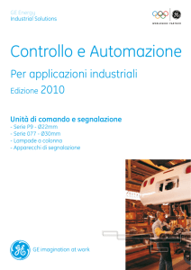 Catalogo - Industrial Solutions