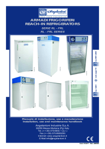 armadi frigoriferi reach-in refrigerators
