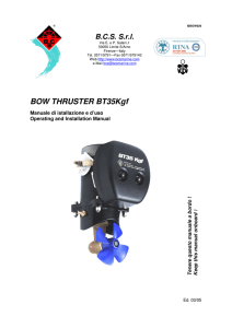 BOW THRUSTER BT35Kgf