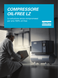 Compressore oIL-Free LZ - Forniture Tecniche Industriali ABC