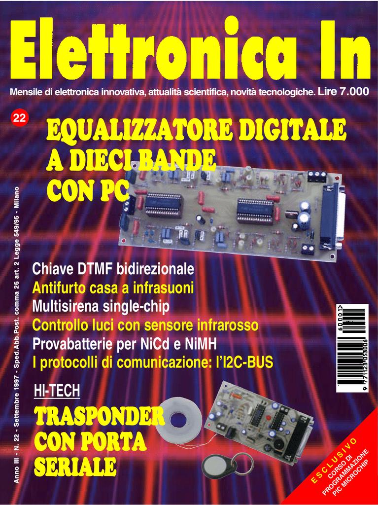 Schema Collegamento Equalizzatore Amplificatore : Equalizzatore digitale a dieci bande con pc