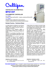 Documentazione Tecnica - Technical Documentation