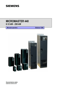 micromaster 440 - Siemens Support