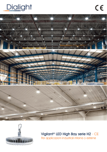 Vigilant® LED High Bay serie H2 - CE