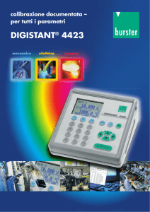 DIGISTANT® 4423 - Industrie