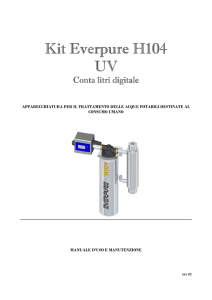 Kit Everpure Kit Everpure H104 UV