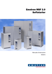 Emotron MSF 2.0 Softstarter