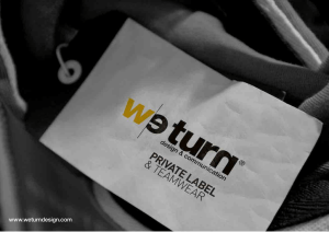 Brochure WeTurn Private Label IT