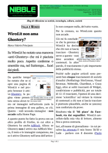 Wired.it non ama Ghostery?