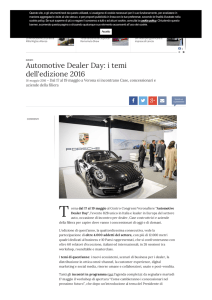 Automotive Dealer Day 2016