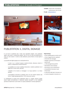 PUBLISTATION: IL DIGITAL SIGNAGE