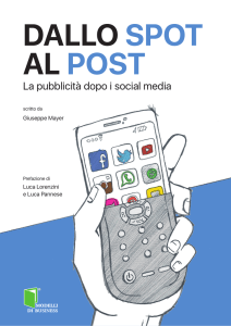 dallo spot al post