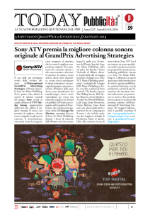 Today 31 marzo 2014 - GrandPrix | Advertising Strategies