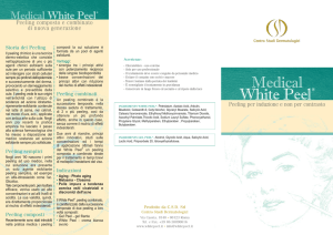 brochure white peel A4 foto new