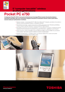 Pocket PC e750
