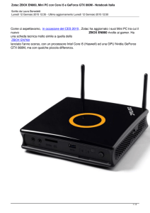Zotac ZBOX EN860, Mini PC con Core i5 e