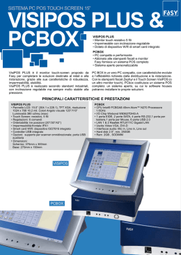 sistema pc pos touch screen 15