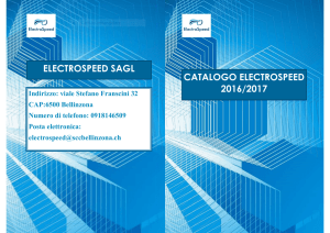 electrospeed sagl catalogo electrospeed 2016/2017