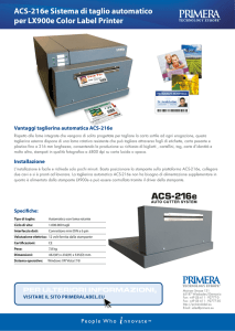 ACS-216e Cutter italiano