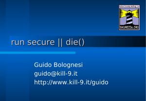run secure || die() - kill-9.it