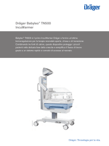 Product information: Dräger Babyleo ® TN500