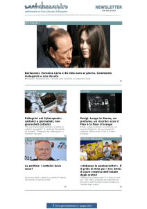 EDITORIALI Berlusconi, Veronica Lario e 46