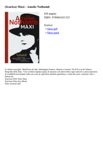 (Scarica) Maxi - Amelie Nothomb