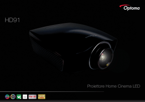 Proiettore Home Cinema LED