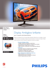 278C4QHSN/00 Philips Monitor LCD con Ambiglow