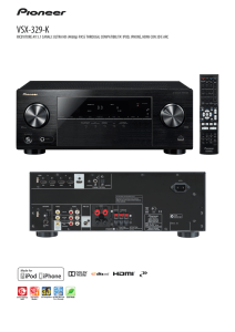VSX-329-K - New Audio