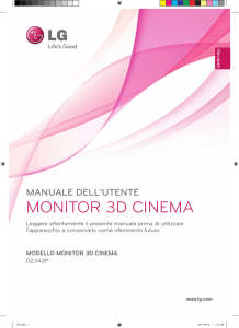 monitor 3d cinema