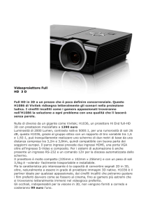 Videoproiettore Full HD 3 D