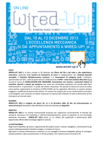 NL 30 Presentazione Wired Up
