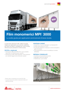 Film monomerici MPI™ 3000