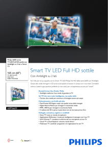 65PFS6659/12 Philips TV LED Full HD sottile con