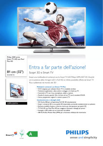 32PFL5507H/12 Philips Smart TV LED con Pixel Plus HD