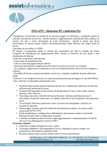 SYS-ANT - Sicurezza PC (Antivirus Pc)