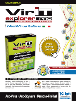 Manifesto Vir.IT eXplorer PRO 2010
