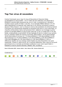 Top Ten virus di novembre