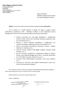 ICT Legal Consulting - Ordine Avvocati Catania