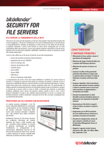 Security for file ServerS