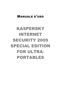 Kaspersky Internet Security 2009 Special Edition for Ultra