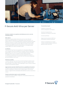 F-Secure Anti-Virus per Server