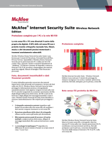 McAfee Internet Security Suite Wireless Network