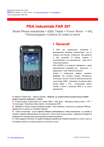 PDA Industriale FAR 307