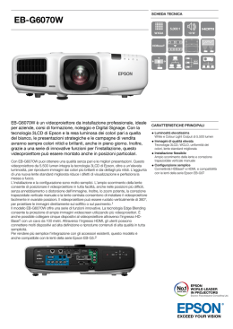 EB-G6070W - Pass Audio Video