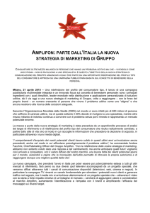 150421 amplifon CS lancio marketing