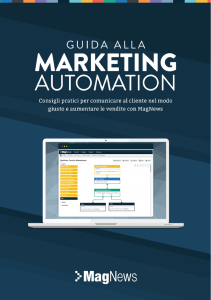 questo link - Marketing Automation