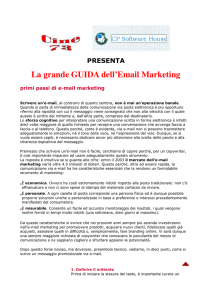 E-mail di marketing